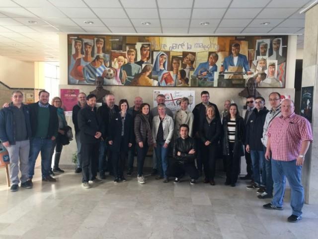 El col·legi Salesians Juan XXIII acull una trobada de l''Erasmus+ Teaching in the digital age' / Salesians