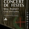 Cartell Concert/Facilitat per Mal Passet de Cocentaina