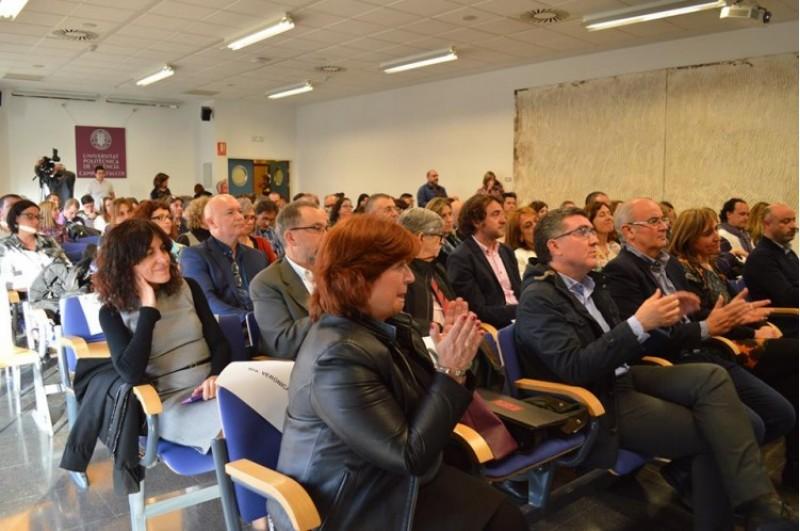 Presentació de les Jornades de Sociolingüística a Alcoi / María Gutiérrez
