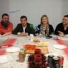 Els quatre regidors del PP alcoià en l'esmorzar nadalenc amb la premsa