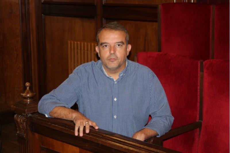 Jordi Martínez, portaveu socialista a l'Ajuntament d'Alcoi