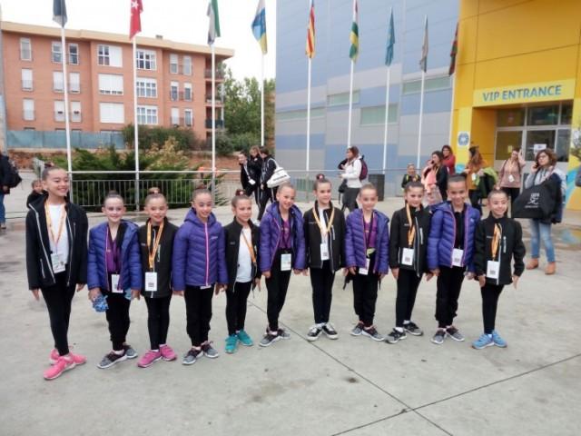 Les xiques del CGR Alcoi, amb les de la Nucia, primeres i segones en el campionat Nacional