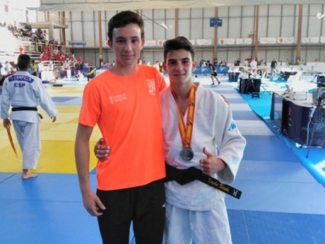 El judoka Gaizka Porras, subcampió d'Espanya cadet