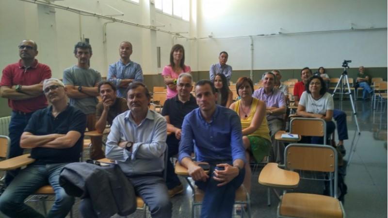 Els regidors Manolo Gomicia i Alberto Belda han assistit a la presentació de l'Eco Dimoni/AM