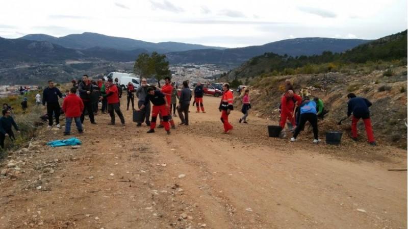 El paratge de Serelles d'Alcoi acull una jornada d'educació ambiental per tercer any consecutiu / Comunicació Alcoi