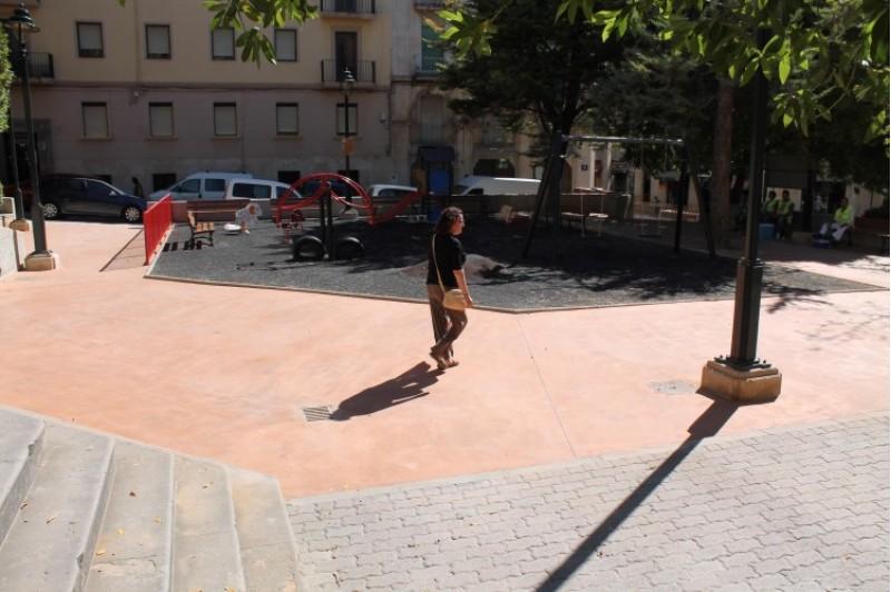 El parc Font de l'Horta d'Alcoi té nova imatge / Alcoi