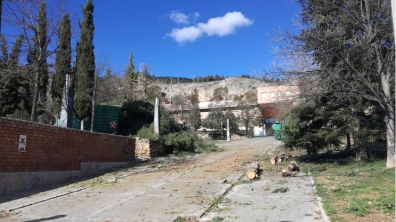 El Romeral, una de les zones més afectades pel temporal de neu i vent del passat mes de gener (2017)