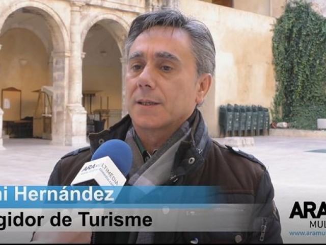 Toni Hernández durant l'entrevista amb ARAMULTIMÈDIA