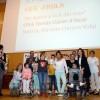 Els alumnes del Tomás Llácer en l'acte de lliurament del premi a la UMH. FOTO: ©PRATS i CAMPS.
