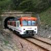 El tren Alcoi-Xàtiva. Imatge via blog El Socarraet