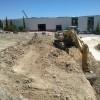 Primers moviments de terra per a la construcció de la subestació de Castalla / GVA