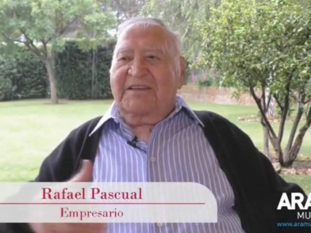 Rafael Pascual, en el vídeo homenatge a Enrique Rico, la seua última aparició pública