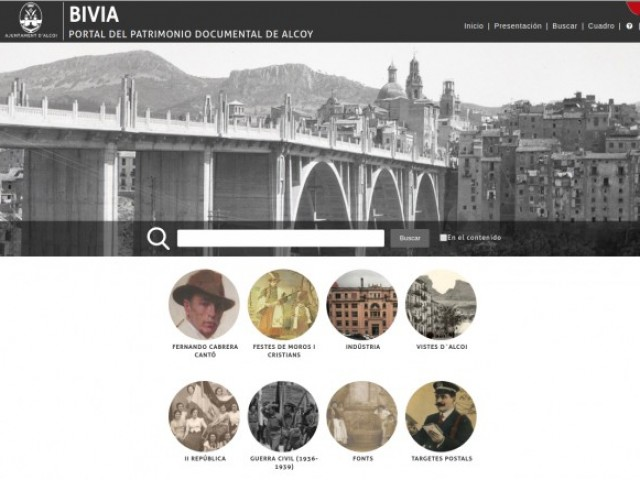En sis mesos de funcionament, la biblioteca virtual d'Alcoi (BIVIA) rep més de 190.000 consultes