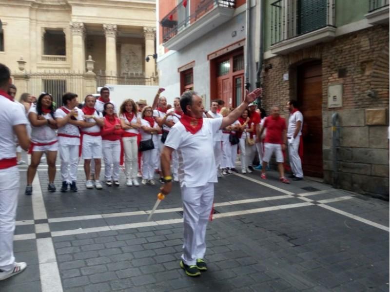 L'entrada Navarra a Pamplona /AM