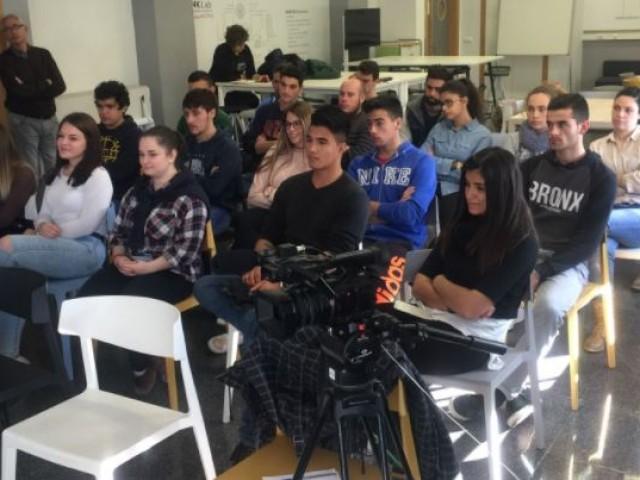 Presentació de ideaT a l'IES Cotes Baixes / R. Lledó