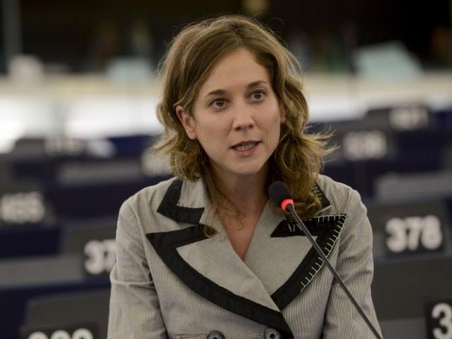 Marina Albiol, portaveu d'Esquerra Unida a Brussel·les