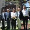 Felino, amb familiars i els alcaldes de la comarca /AM