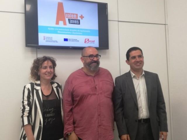 Presentació d'Avalem Joves a Alcoi el passat 8 de juny