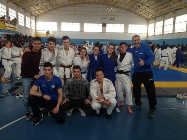 Competidors del Judo Club Alcoi a Castelló / JCA