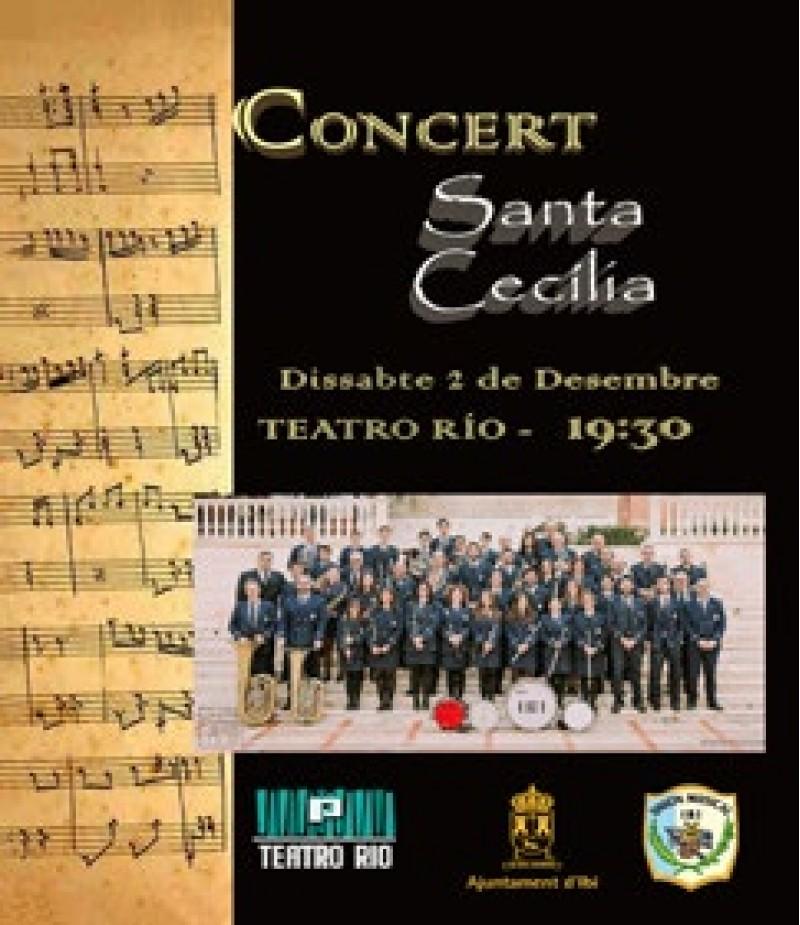 Gaudeix del Concert de Santa Cecília de la mà de la Unió Musical d'Ibi / Programació