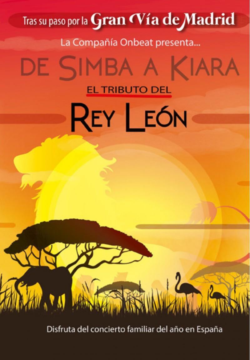 Gaudeix del musical infantil 'De Simba a Kiara, Tributo Rey León' a Teatre Rio d'Ibi