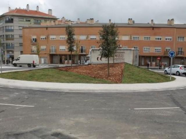 Redona d'El Collao després de ser inaugurada / AM