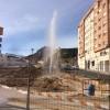 Rebentó a l'exterior d'El Collao / Imatge whatsapp