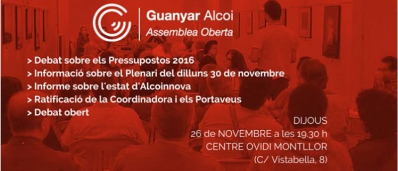 Assemblea oberta de Guanyar Alcoi