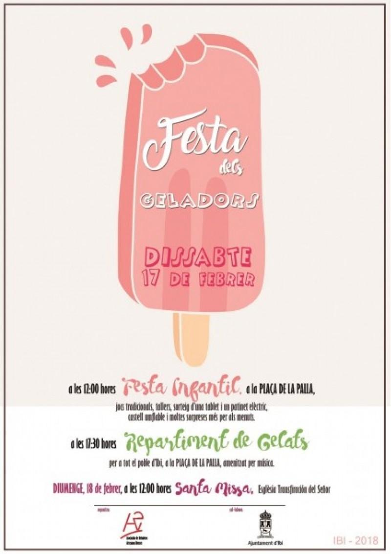 Cartell de la Festa dels Geladors d'Ibi / Ajuntament d'Ibi