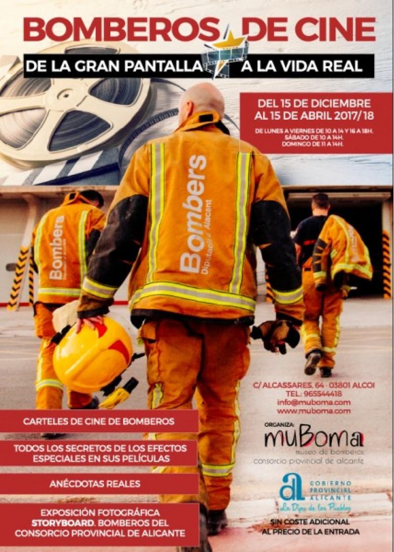 Inauguració al MuBoma de l'exposició 'Bombers de cinema: De la gran pantalla a la vida real' /  MuBoma