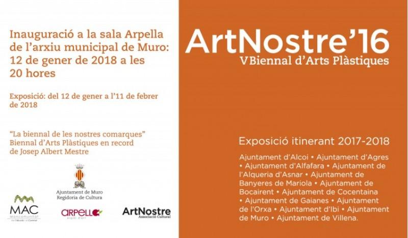 Inauguració de l'exposició de la V Biennal d'Arts Plàstiques