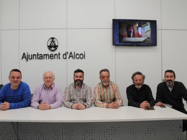 Inauguració de l'exposició 'La Imaginació Desbocada. Alejandro Soler' en la Llotja Sant Jordi d'Alcoi / Ajuntament d'Alcoi