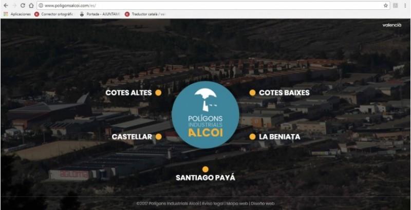 Informa't a través de la web de totes les dades dels polígons d'Alcoi / Ajuntament d'Alcoi