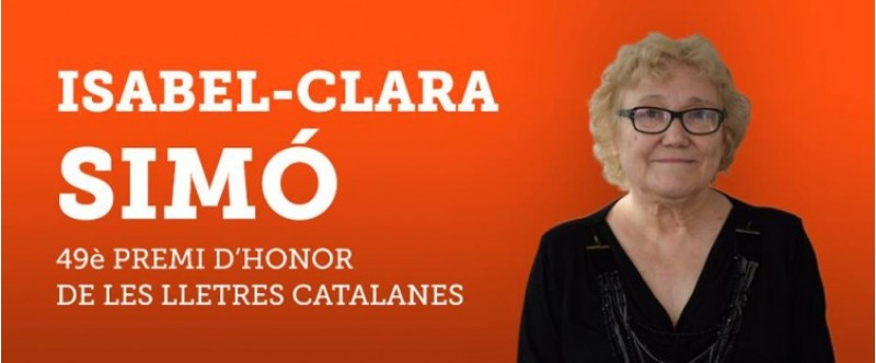 Isabel Clara Simó, Premi d'Honor de les Lletres Catalanes / Òmnium Cultural