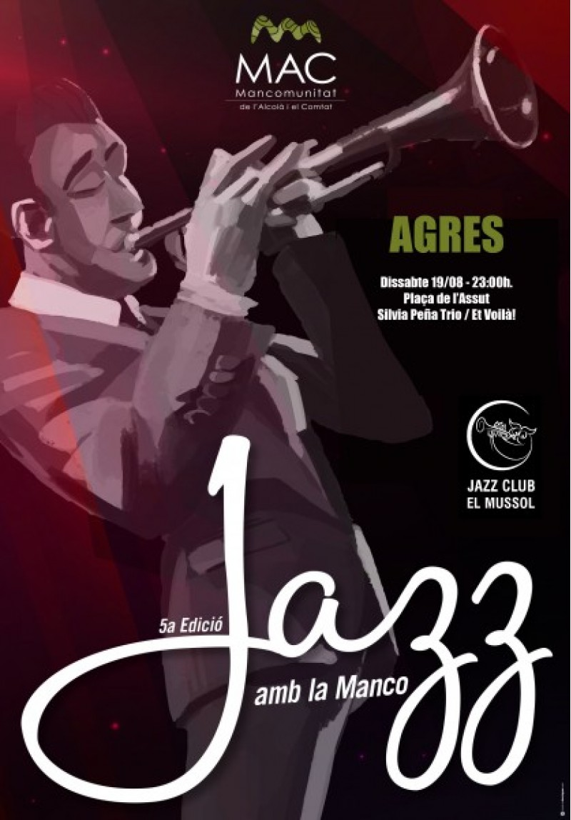 Cartell Jazz amb la Manco
