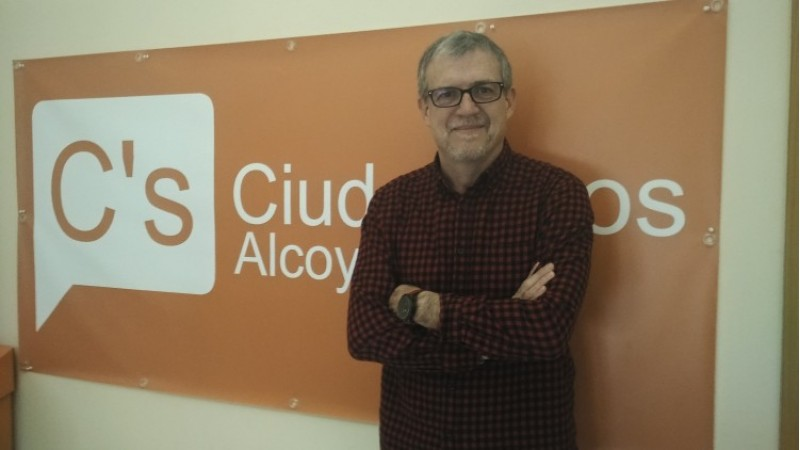 Jordi Sedano, portaveu de Ciutadans a Alcoi/AM