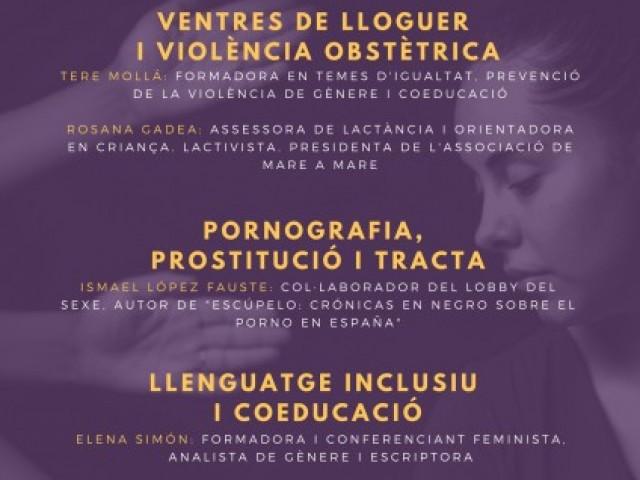 Jornada feminista organitzada per Guanyar Alcoi