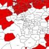 Ací es pot vore amb claritat i en detall els municipis on s'ha detectat. A les nostres comarques, tan sols a Ibi.