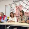 Pablo Granados, Juan Miguel Cortés, Roser Falip, Begoña Jover i Rafa Vázquez, expliquen el projecte / R. Lledó