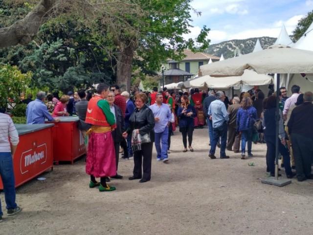 Un moment de la fira Tapa i Festa a la Glorieta/AM