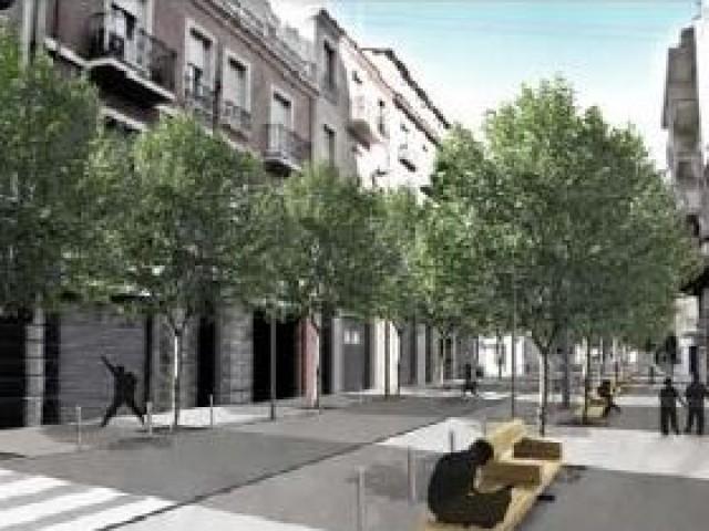 Projecte del nou Carrer Entença / Ajuntament