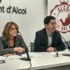 L'alcalde Toni Francés i la regidora d'hisenda Vanessa Moltó presenten els pressupostos 2017/AM