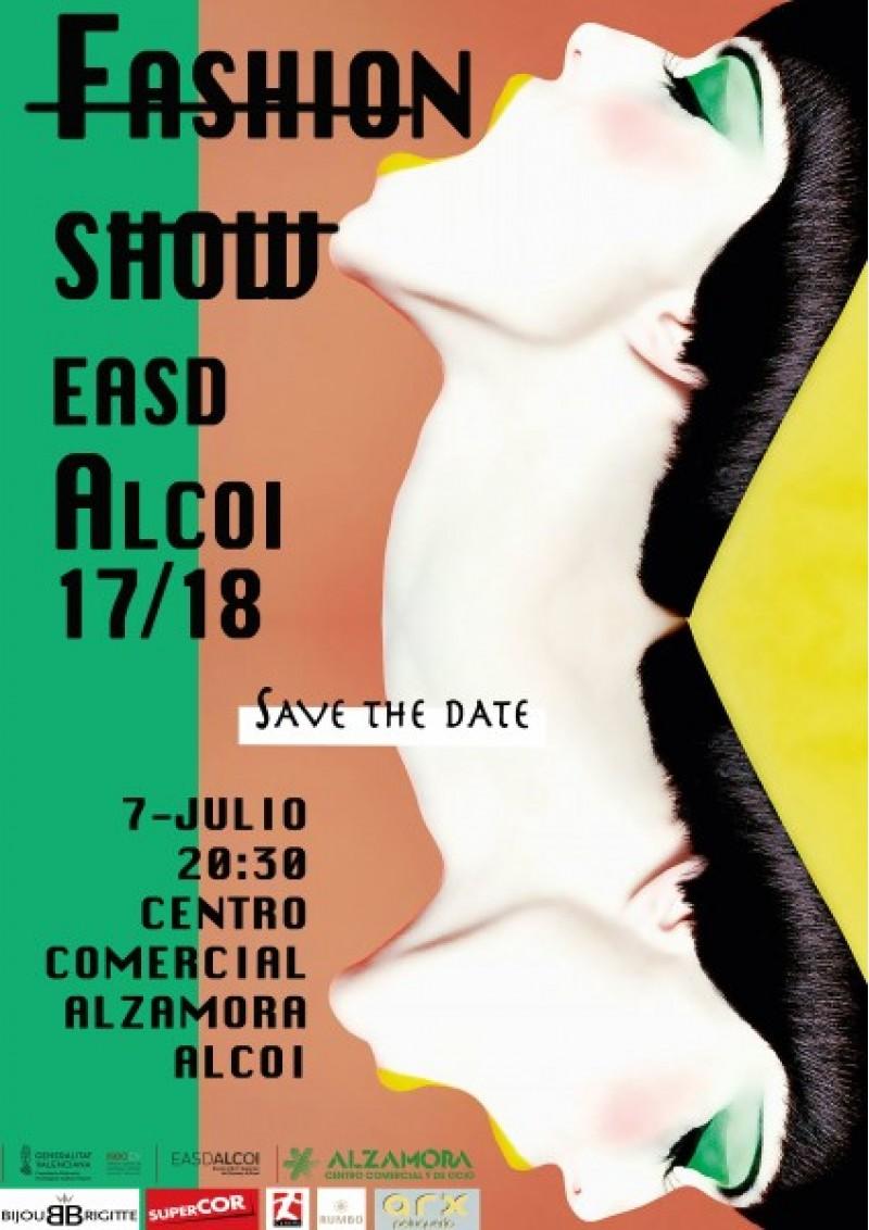 Cartell de la desfilada de moda de l'EASD d'Alcoi/Facilitat per l'EASD d'Alcoi