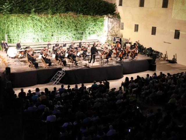 La 9a de Beethoven conquesta el Palau Comtal de Cocentaina