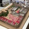Maqueta del projecte del futur Parc Tecnològic a Rodes
