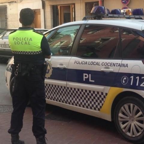 Cotxe de la Policia Local de Cocentaina / Ajuntament