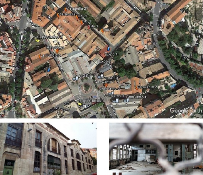 El circuit de llocs on podrien instal·lar-se les 'pop up stores', dins del projecte Fundcion Experimental Stores