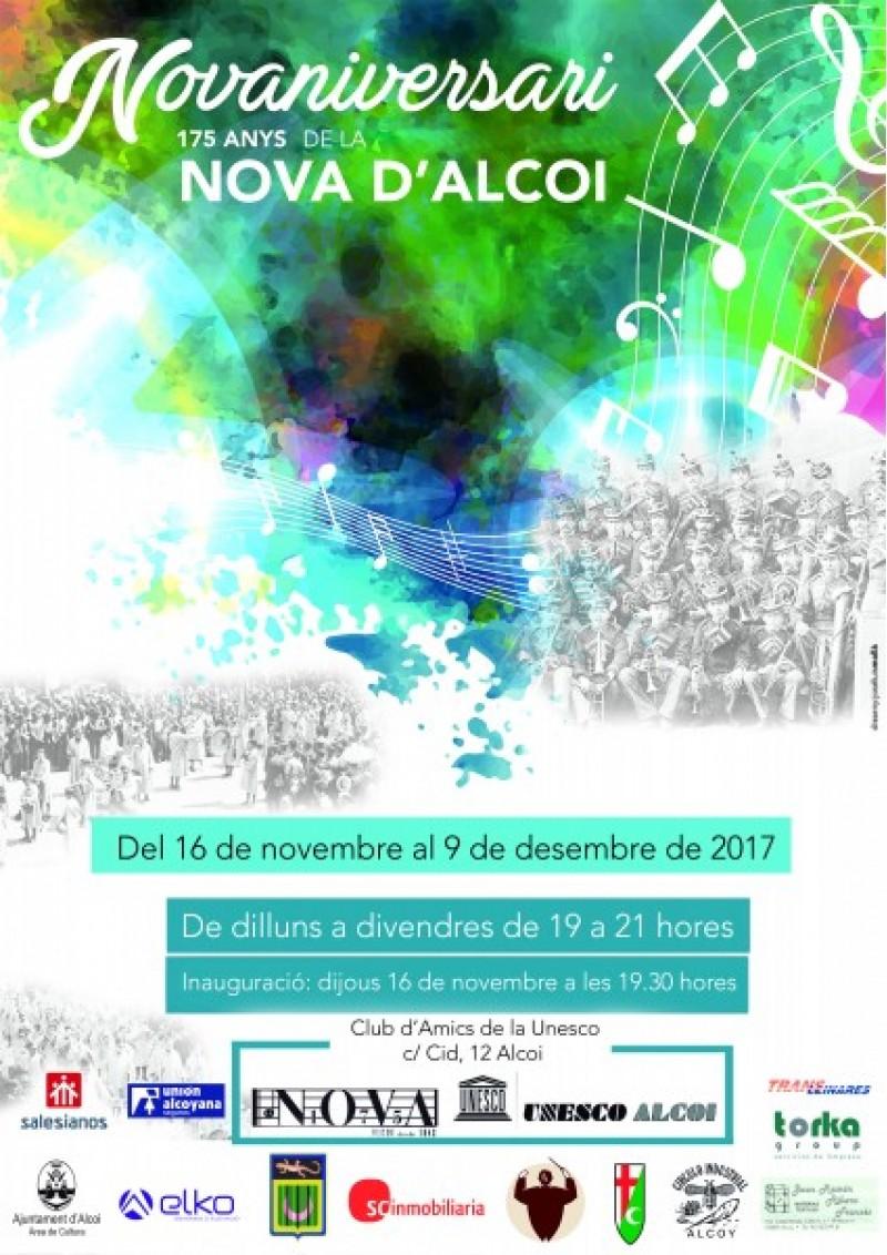 La Música Nova d'Alcoi exposa pel seu 175é aniversari en la Unesco / Música nova