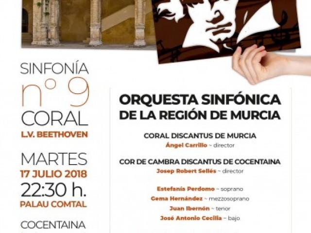 """La """"Novena Sinfonía"""" de Ludwig Van Beethoven sonarà al Palau Comtal de Cocentaina"""