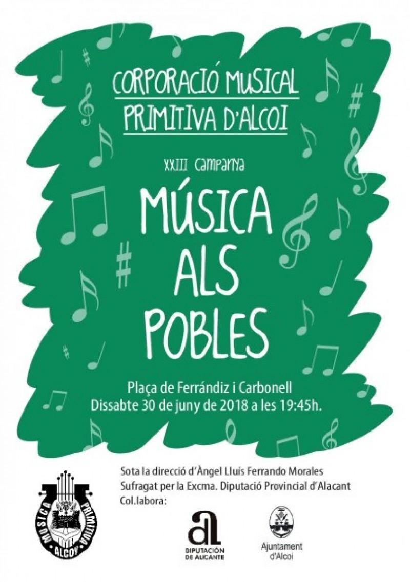 Portada Concert d'Estiu/Facilitat per CIM Apolo